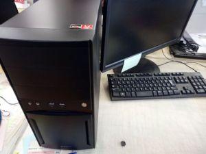 バイオテックへ設置したパソコン