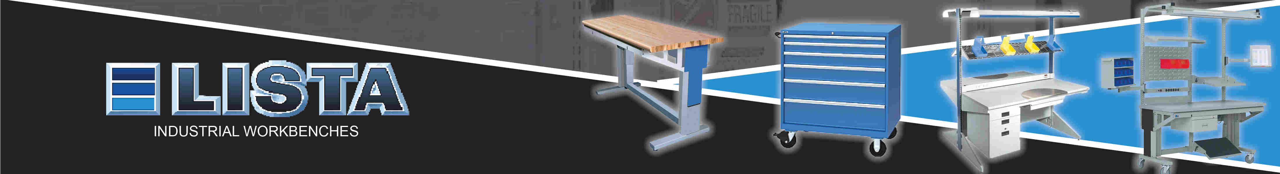 Lista Industrial Workbenches And Storage Cabinets