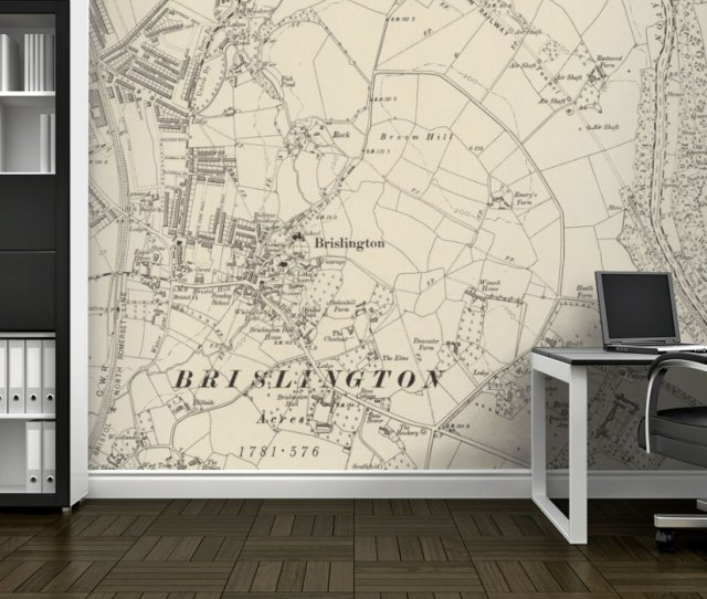 Ordnance Survey Six Inch To The Mile Wallpaper Map