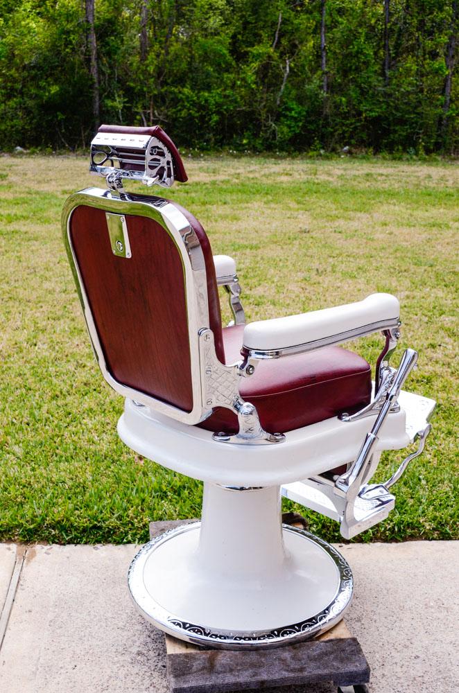 1930s Koken Barber Shop Barber Chair Obnoxious Antiques
