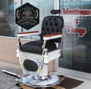 Antique Barber Chairs and Parts