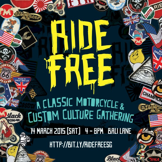 ride free, custom show, event, motorcycle event, custom culture, bali lane, ridefreesg