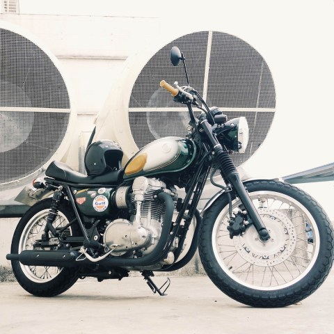 custom kawasaki w800 singapore