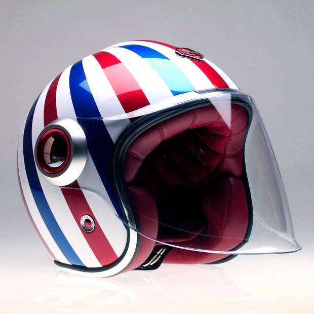 Custom Ruby Belvedere Helmet
