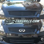 Custom Grill Mesh Pieces For Infiniti Vehicles By Customcargrills Com