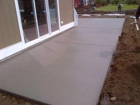 custom concrete contracting