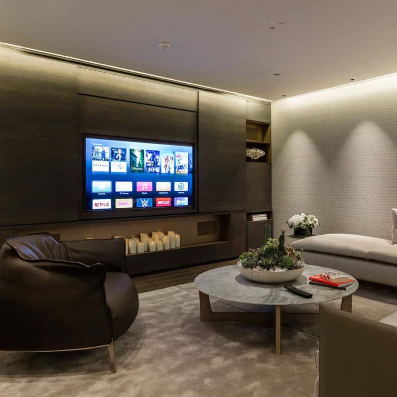 Crestron Showroom London - Lounge Area