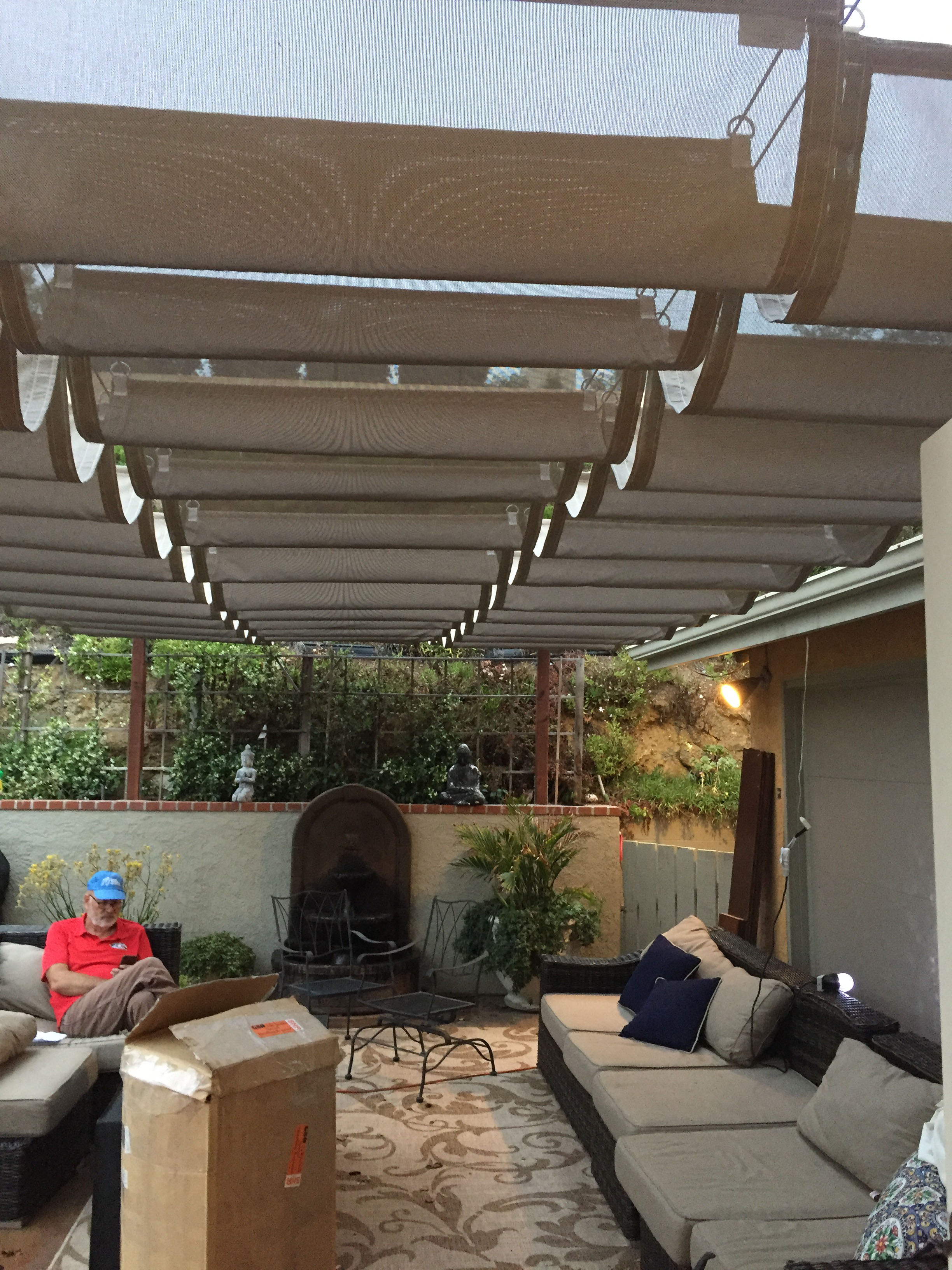 custom canopy and patio shade structures