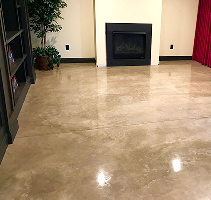 polished concrete in st louis mo