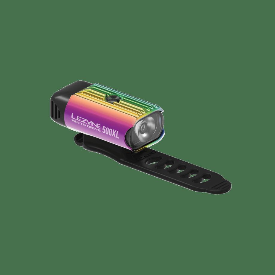 Lezyne Hecto Drive 500XL Front - Neo Metaal
