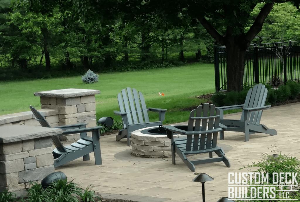 trex outdoor furniture custom deck