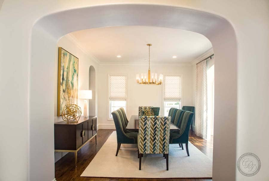Dining Room Archway