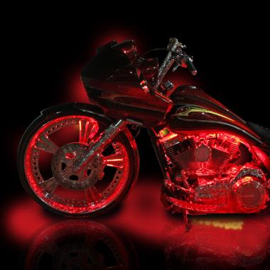 motorcycle accent lights remote