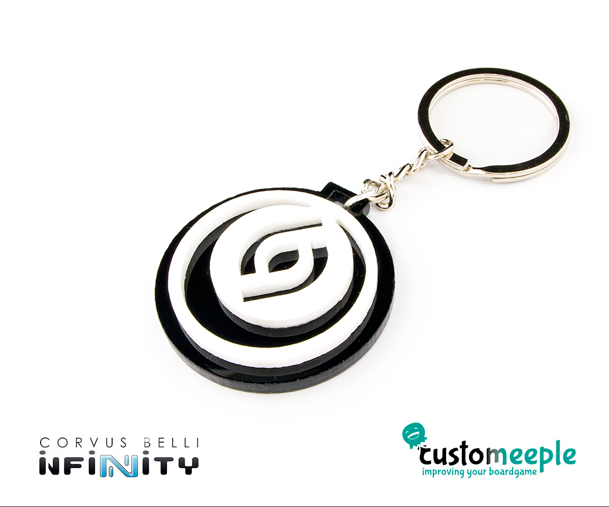 Infinity Key Ring Customeeple