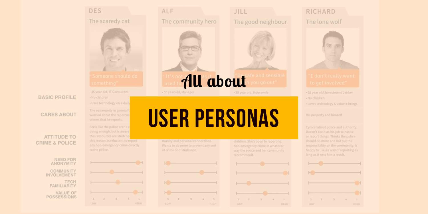 How Personas Shaped Our Design Thinking Customerlabs