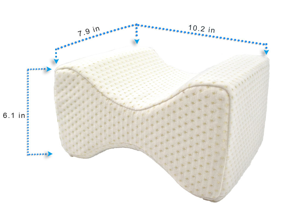 orthopedic knee memory foam pillow