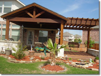 custom cedar patio covers in midlothian