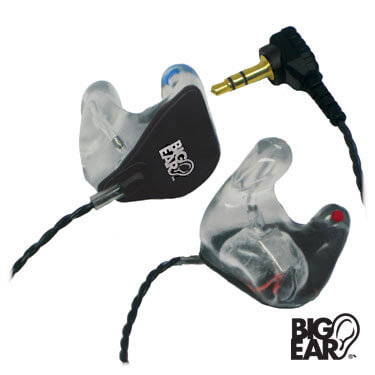 BE-1C's Custom Stereo Earplugs