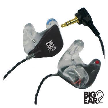 BE-1C's Custom Stereo Earplugs