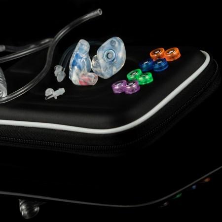 Filtered Ear Plugs, Custom, Musician earplugs, Tactical Pieces, Rugged Case