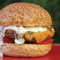 Cheese burger z majonezno omako, recept in video