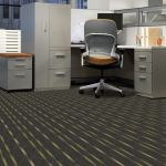 Bolyu Commercial Carpet installed in an office.