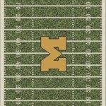 Milliken University of Michigan Homefield Rug