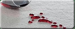 wine spill on SmartStrand carpet