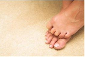 Toes on Carpet