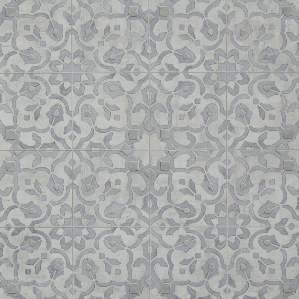 Mannington sheet vinyl and luxury sheet vinyl in Filigree in Pewter