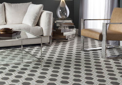 Nobody does patterned carpet like Milliken, this Modern Flair design adds depth and interest in a premium performance carpet.