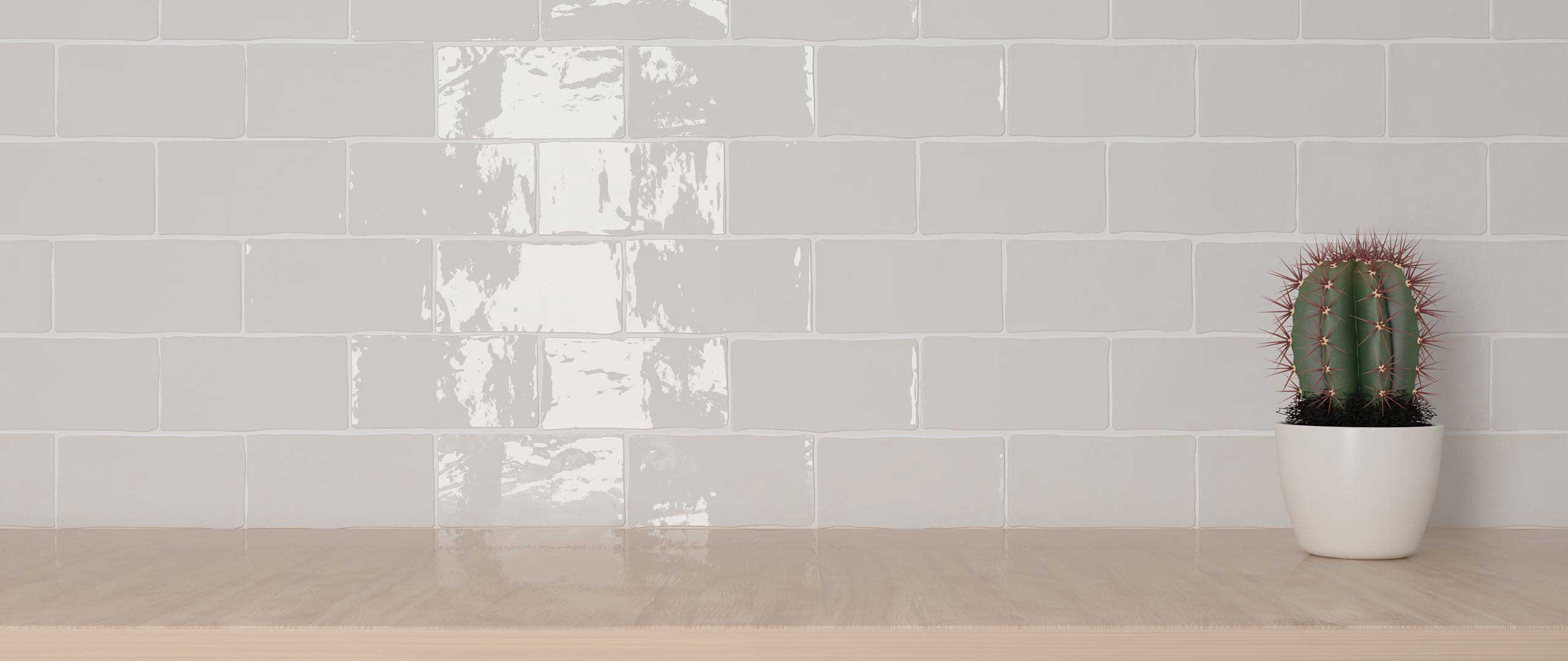 Handcrafted Subway Tiles Pewter