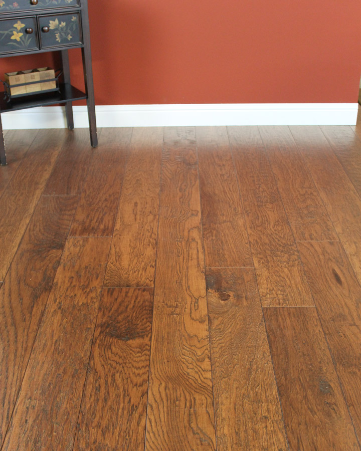 8' long planks with multi-dimensional staining and intense wood grains.