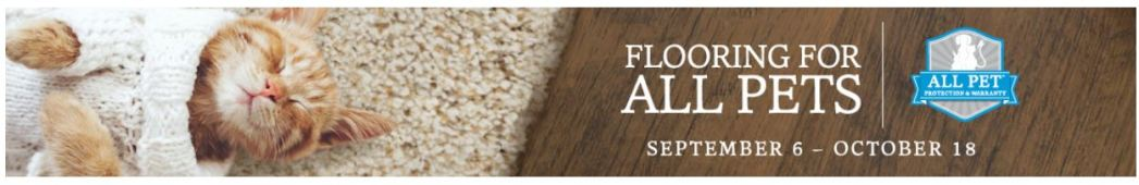 Mohawk Flooring's All Pet Sale!