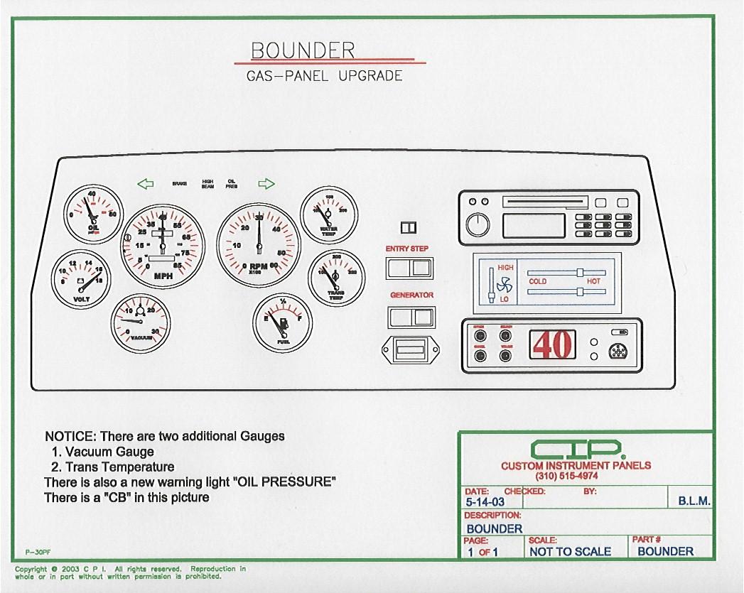 1987 Fleetwood Bounder Wiring Diagram