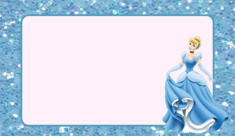 custom cinderella invitation free