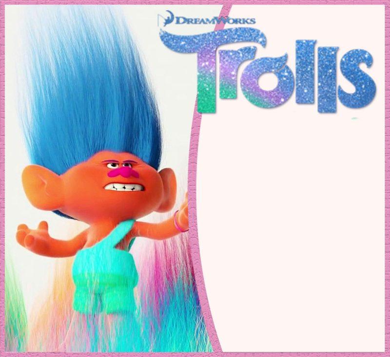 16 free printable trolls invitation