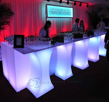 LED Lighted Nightclub Amp Bar Lounge Furniture Customize