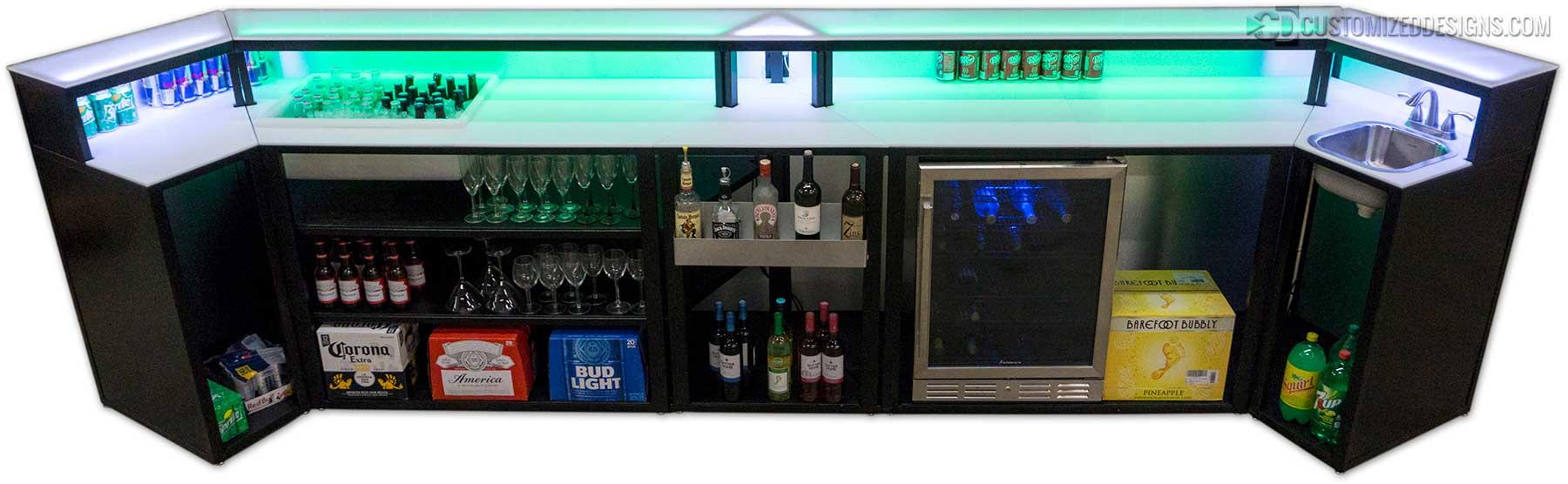 Modular Portable Bar Custom Bars For Commercial Bars