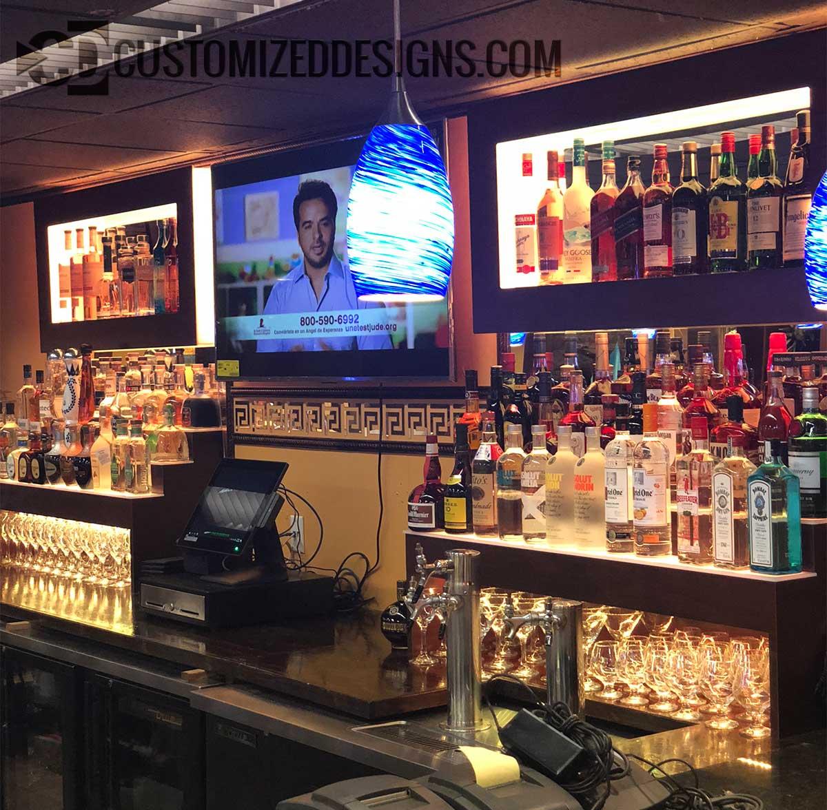 Restaurant Back Bar Display Bar Amp Nightclub Products