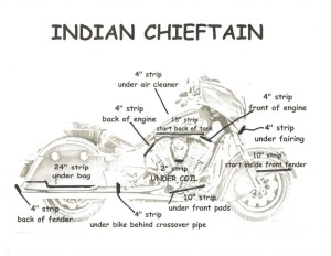 Indian Chieftain Fusion LED Lighting Kit  Customize That Ride