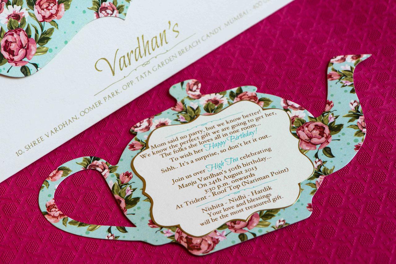 creative indian wedding invitation