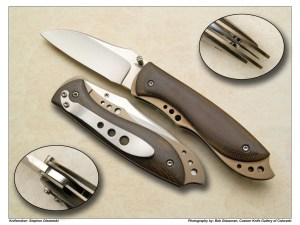 Stephen Olszewski Wharncliffe Tactical Folder
