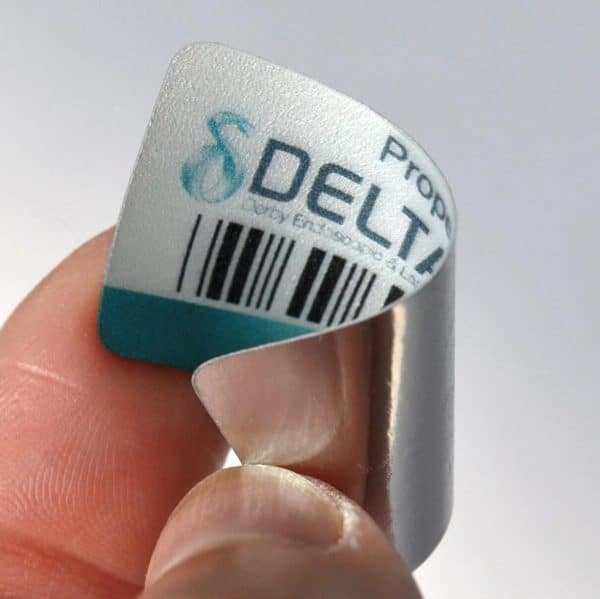 Ultra Tough Asset Labels manufactured in the UK