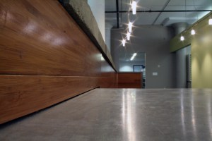 Concrete and Wood Custom Fabrication by Custom Laser