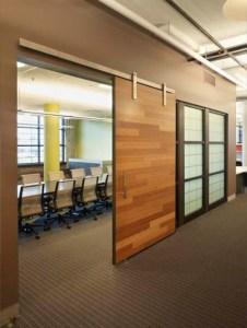 Bamboo Paneled Sliding Door Watts Engineering