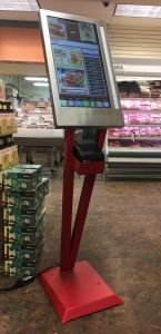 Grocery Kiosk by Custom Laser