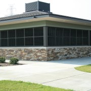 Laser-Cut Tube and Flat Steel at Stransky Field House