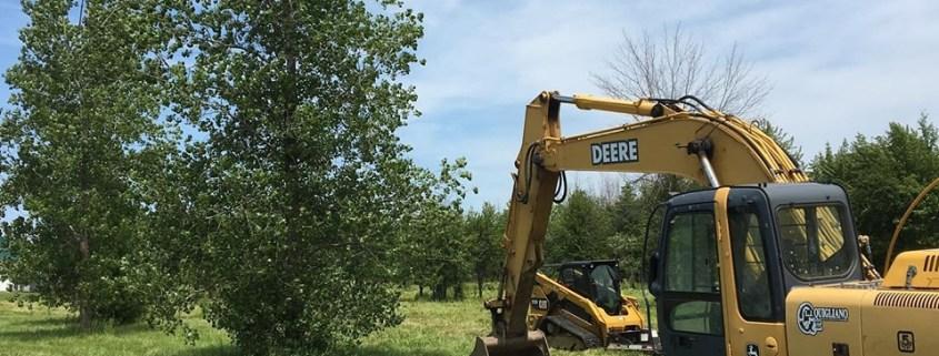 New Construction Work Beginning at Custom Laser