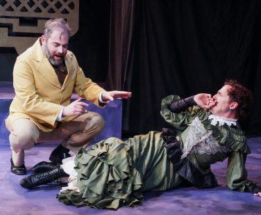 Clive confronts Betty (Evan Winet, Mario Mazzetti)